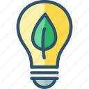 bulb, eco, ecolight, friendly, light