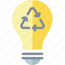 bulb, energy, light, recycle, recycling