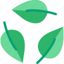 bio, eco, leaves, recycle, recycling icon