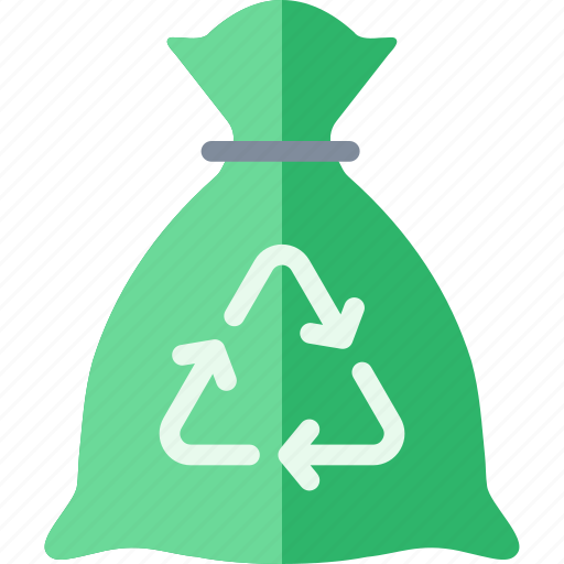 Bag, garbage, recycle, recycling, sack, trash icon - Download on Iconfinder