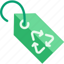 label, recycle, recycling, reuse, tag icon