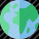 earth, eco, green, planet, terra icon