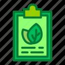 ecology, environment, list, task