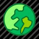 earth, eco, globe, world icon