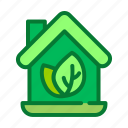 ecology, green, house, nature