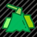 eco, environment, green, illegal, logging icon