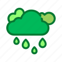 cloud, cloudy, overcast, rain, weather