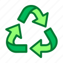 eco, ecology, environment, recycle, trash icon