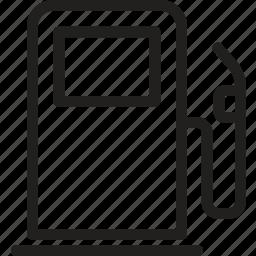 fuel, gasoline, oil, pump, station, tank, vehicle icon