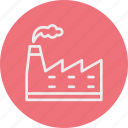 ecology, factory, nature icon