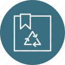 ecology, nature, package icon