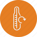 ecology, nature, thermometer icon
