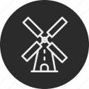 ecology, factory, nature, windmill icon