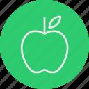 apple, ecology, nature icon