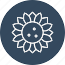 ecology, flower, nature, sunflower icon