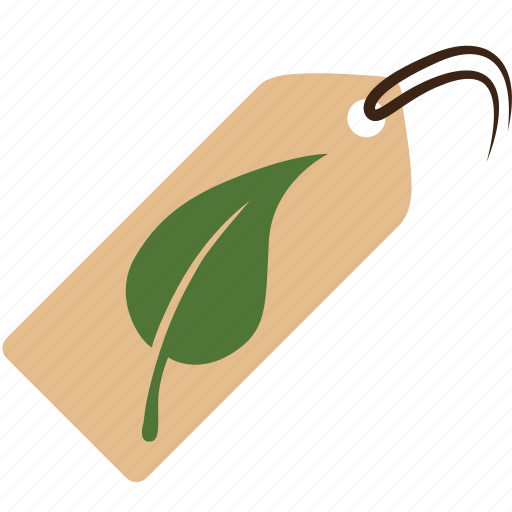 eco, ecology, green, label, nature, plant, product icon