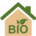 bio, eco, ecology, home, house, nature, plant, product, recycle icon