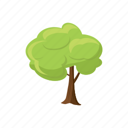 cartoon, ecology, environment, leaf, nature, spring, tree icon
