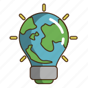earth, ecology, green, lightearth, nature icon