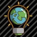 eco light, ecology, green, light, light earth