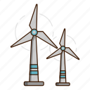 ecology, green, wind, wind energy, windmill