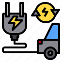 car, clean, electric, global, group, happy, park icon