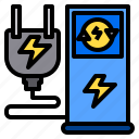 clean, electric, global, group, happy, park, station icon