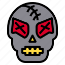 business, clean, global, group, happy, park, skull icon