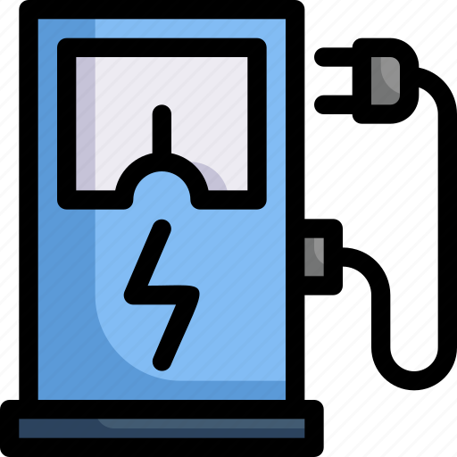 charging station, eco, ecology, electric, energy, fuel, nature icon