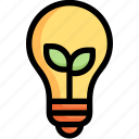 bulb, eco, ecology, energy, idea, lamp, nature icon