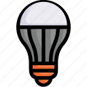 bulb, eco, ecology, energy, led lamp, light, nature icon