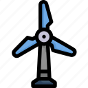 eco, ecology, energy, nature, power, turbine, windmill icon