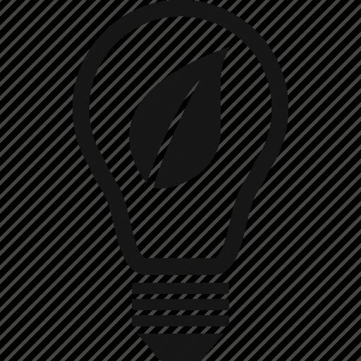 Energy, green, leaf, light icon - Download on Iconfinder