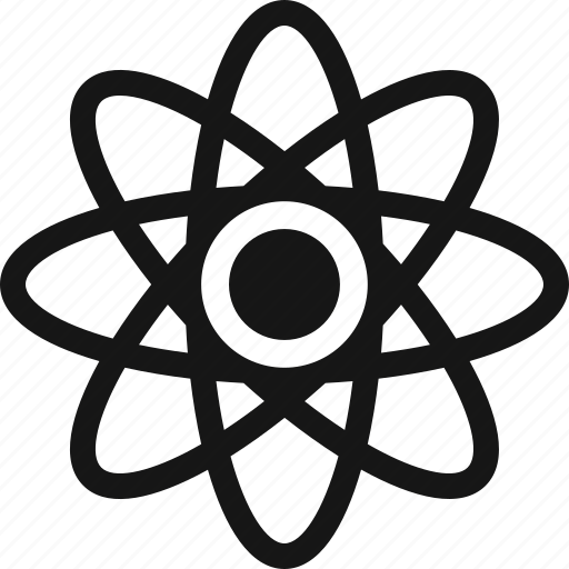 atom, molecule, research, science icon