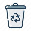 recycle, bin, trash, waste, recycling, garbage