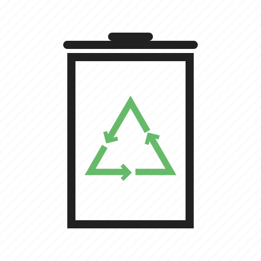 bin, ecology, environment, green, recycle, recycling, trash icon
