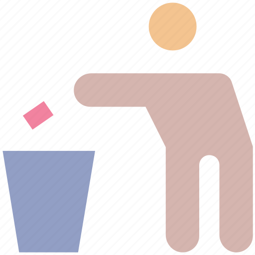 Ecology, center, dustbin, recycling, environment, waste icon