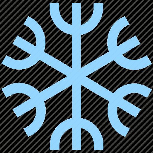 ecological, ecology, energy, environment, snow, snowflake icon