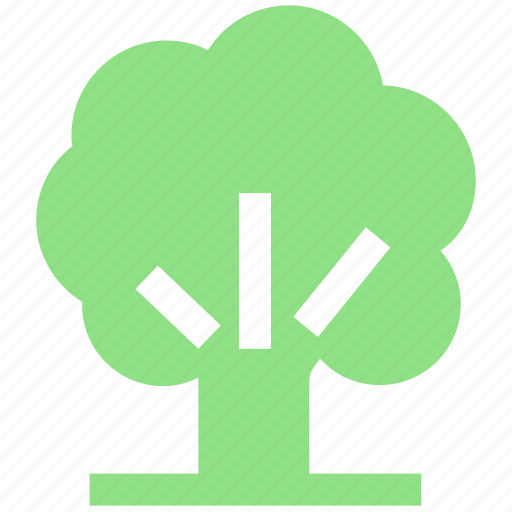 ecology, environment, green, natural, nature, park, plant, tree icon