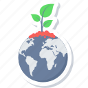 planet, bio, earth, global plant, global, green