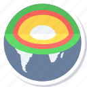 core, earth, globe, web, worldwide icon