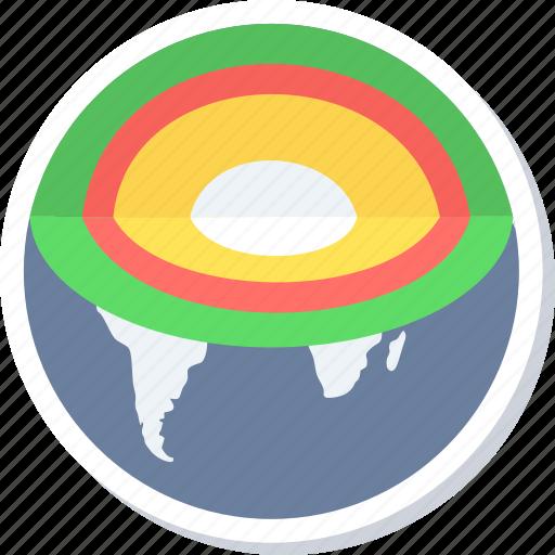 core, earth, globe, web, worldwide icon