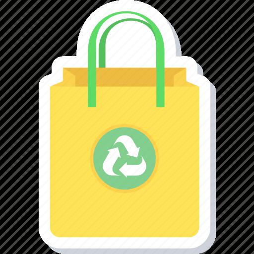 bag, eco, save pollution icon