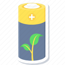 battery, eco, ecology, power, save icon