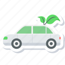car, eco, eco friendly, ecology icon