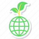 eco, ecology, environment, friendly, nature icon