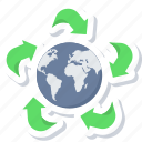 earth, globe, green, planet, world icon