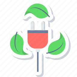 battery, ecology, energy, green icon