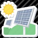 energy, solar, sun