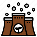 ecology, energy, factory, industrial, nuclear icon